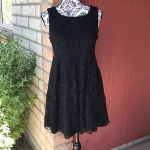 Alice and Olivia sequin lace dress
